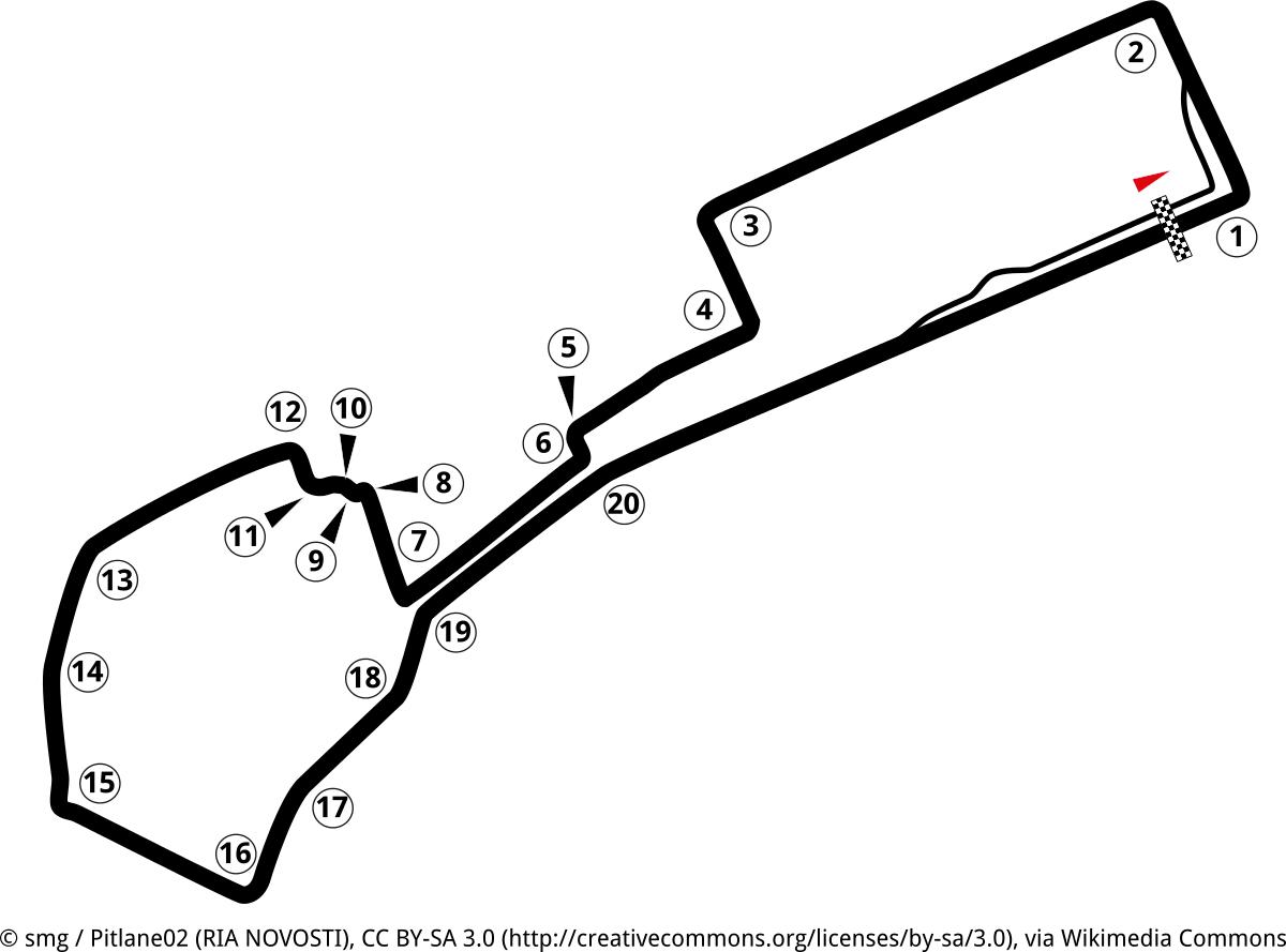 baku formel 1 strecke