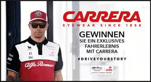 Gewinnen Sie mit Carrera ein exklusives Fahrerlebnis!