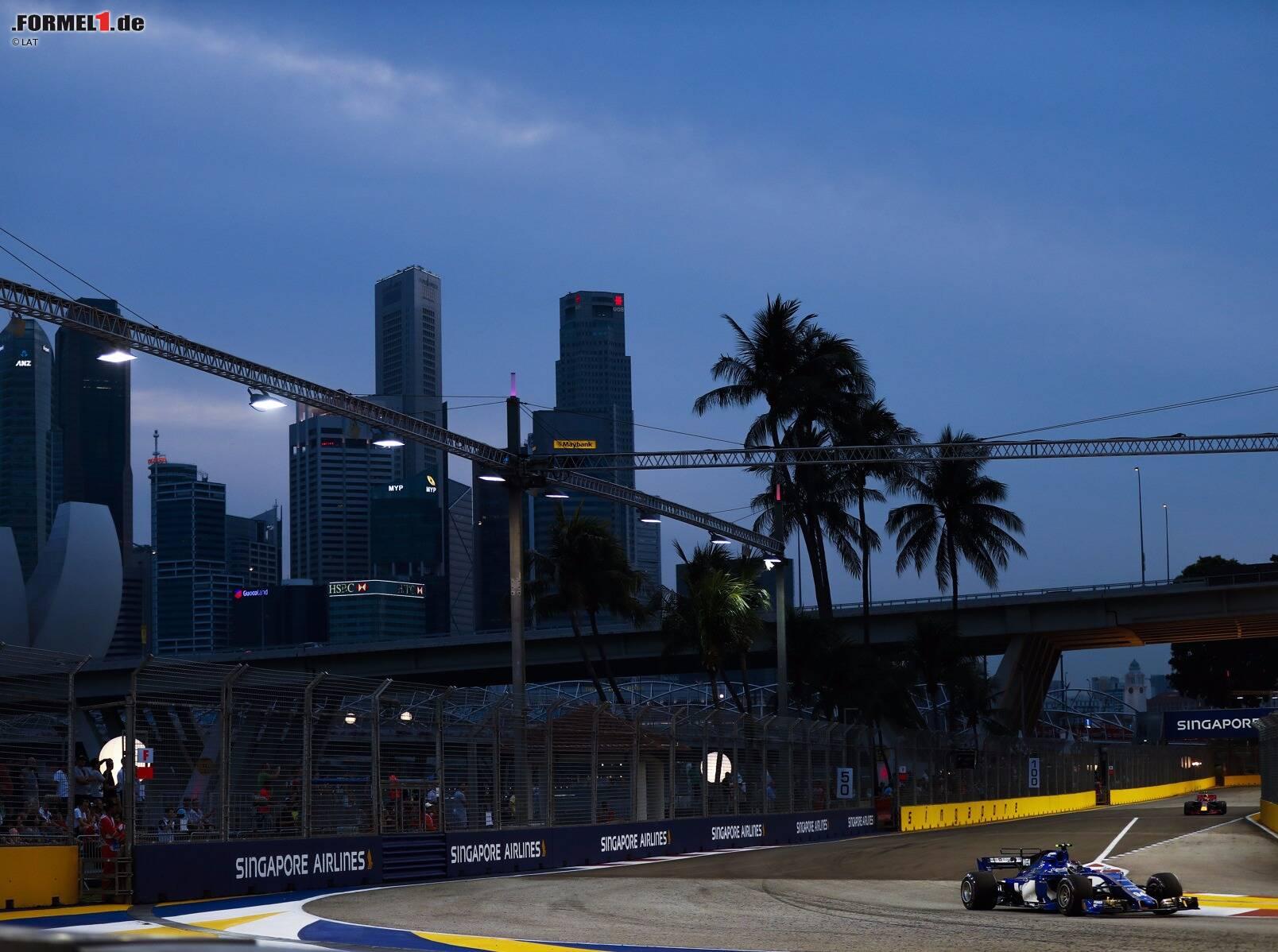 formel 1 singapur rennstart