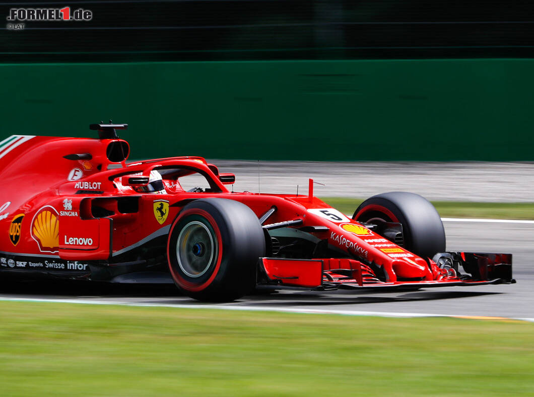 formel 1 monza 2018 sebastian vettel bleibt auf pole kurs. Black Bedroom Furniture Sets. Home Design Ideas