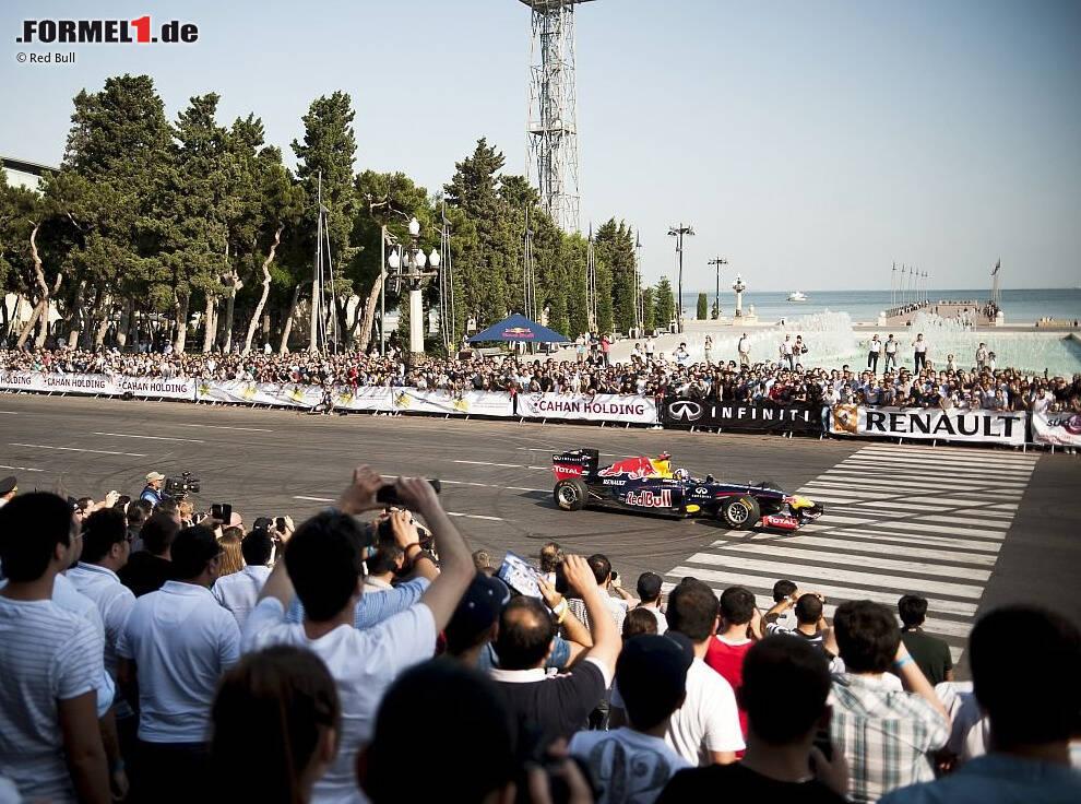 Baku Formel 1 >> Video: So rast die Formel 1 im Juni durch Aserbaidschan - Formel1.de-F1-News