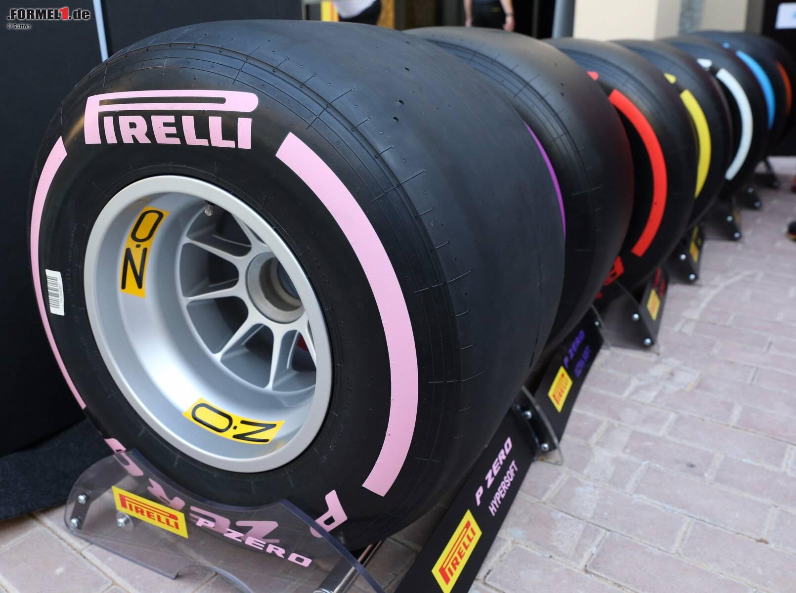 formel 1 reifen 2018 pirelli f hrt zwei neue mischungen