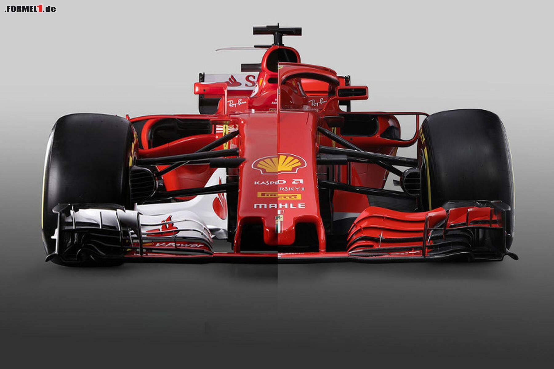 Formel-1-Live-Ticker: Alter und neuer Ferrari im Vergleich
