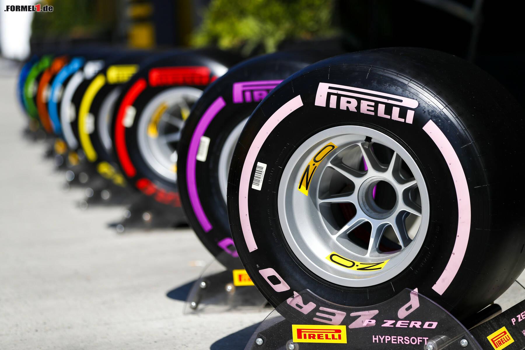 Gewicht Formel 1 Reifen