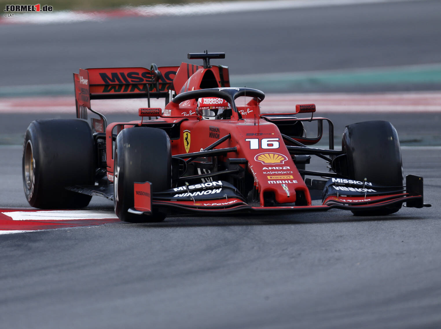 formel 1 tests barcelona 2019 ferrari gibt weiter ton an. Black Bedroom Furniture Sets. Home Design Ideas