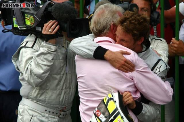 Jenson Buttons großartige Karriere: Das waren seine zwölf besten Rennen - jetzt durch den Countdown klicken!