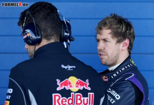 Schon wieder ein Tag im Eimer: Für sebastian Vettel hat sich die Reise nach Jerez wahrlich nicht gelohnt. Schon nach acht Runden stapfte er enttäuscht heim...