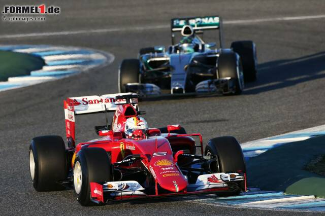 formel 1 tests 2015 in jerez bestzeit f r vettel. Black Bedroom Furniture Sets. Home Design Ideas