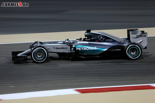 Gegen Lewis Hamilton war im Bahrain-Qualifying kein Kraut gewachsen
