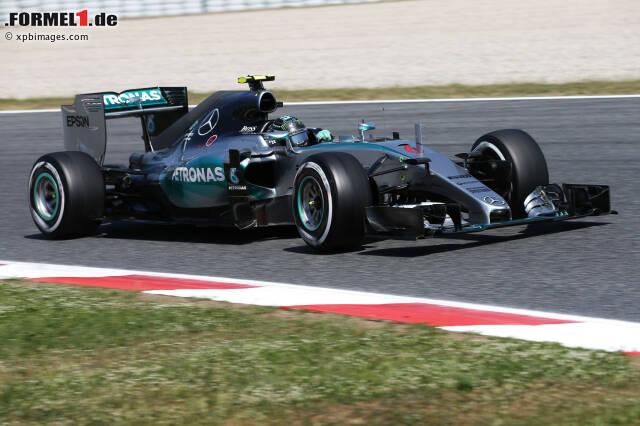 Rosberg sicherte sich mit 0,267 Sekunden Vorsprung überraschend klar die Pole