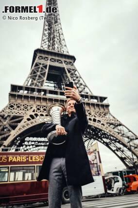 Nico Rosberg in Paris