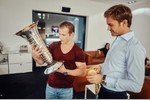 Nico Rosberg mit Turn-Olympiasieger Fabian Hambüchen