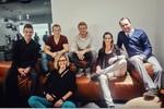 Nico Rosberg mit Turn-Olympiasieger Fabian Hambüchen, den Beachvolleyballerinnen Laura Ludwig und Kira Walkenhorst und dem Fußballer Joshua Kimmich