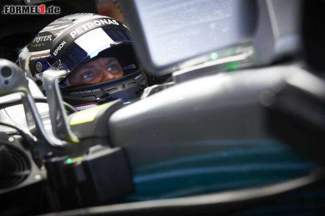 Valtteri Bottas wird bei Mercedes in die Rolle der Nummer 2 gedrängt. Jetzt durch die Highlights des Rennens in Schanghai klicken!