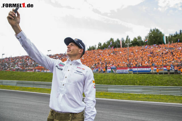 """Enttäuschung vor zehntausenden """"Oranjes"""": Max Verstappen in Spielberg. Klicken Sie sich jetzt durch die zehn besten Fotos des Rennens!"""