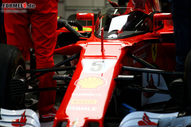 Silverstone: Vettel testet neuen Cockpitschutz