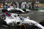 Felipe Massa (Williams) und Lance Stroll (Williams)