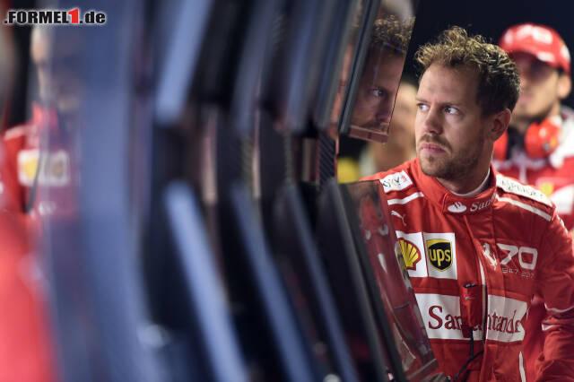 Sebastian Vettel hat in Monza die WM-Führung verloren. Wie? Jetzt die 17 besten Fotos in unseren Rennhighlights durchklicken!