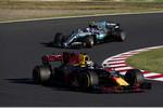 Daniel Ricciardo (Red Bull) und Valtteri Bottas (Mercedes)
