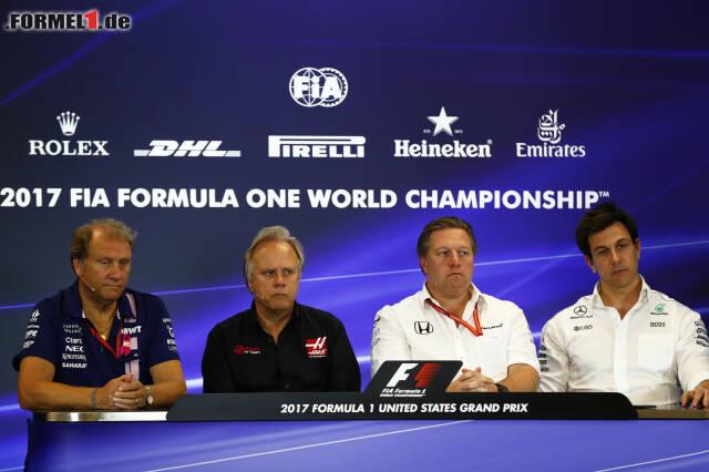 Wer verdient am meisten, wer am wenigsten? Jetzt durch die Top 10 der Geldrangliste der Formel 1 klicken!