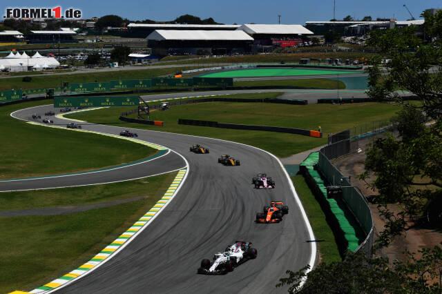 Massa führt das Verfolgerfeld an: Hat sich Williams endlich aus der Krise erholt? Jetzt durch die Highlights des Brasilien-Grand-Prix klicken!