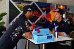 Daniel Ricciardo (Red Bull) und Brendon Hartley (Toro Rosso)