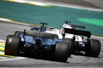 Felipe Massa (Williams) und Lewis Hamilton (Mercedes)