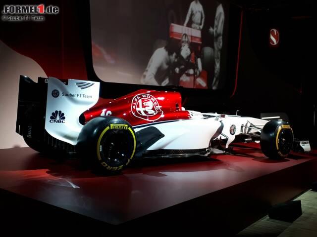 Designkonzept von Sauber und Alfa Romeo für die Formel-1-Saison 2018