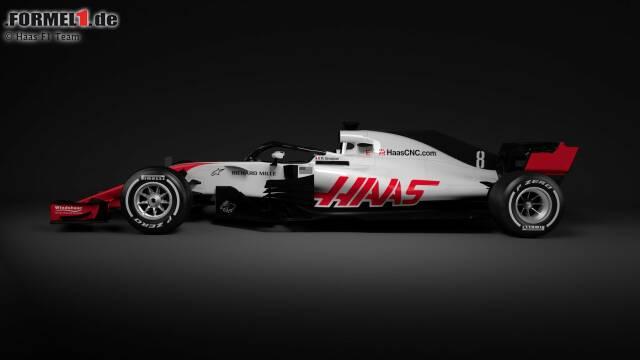 Haas zeigt als erstes Team Fotos vom neuen VF-18.