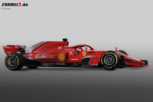 Ferrari Präsentiert Neues Auto Ist Das Vettels Mercedes Killer