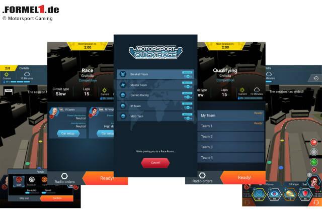 Der Multiplayer Modus Motorsport Master