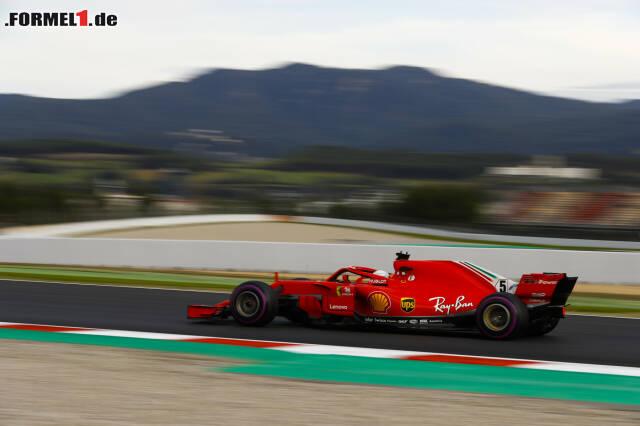 Tagesbestzeit für Sebastian Vettel - aber ist Mercedes trotzdem schneller? Jetzt durch die aktuellen Tech-Leckerbissen klicken!