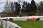 Brendon Hartley (Toro Rosso) und Kimi Räikkönen (Ferrari)