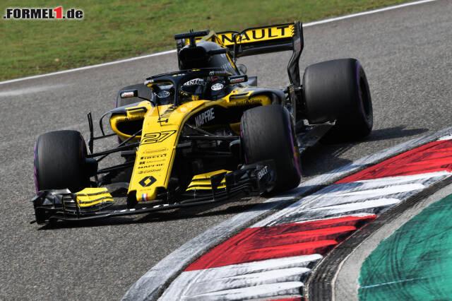 Mann des Rennens in Schanghai: Renault-Fahrer Nico Hülkenberg. Lesen Sie hier die Begründungen der Redaktion für unsere Noten!