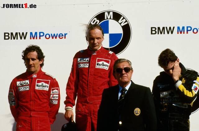 1985 hat Niki Lauda in Zandvoort seinen letzten Grand Prix gewonnen. Jetzt durch einige der besten Fotos klicken!