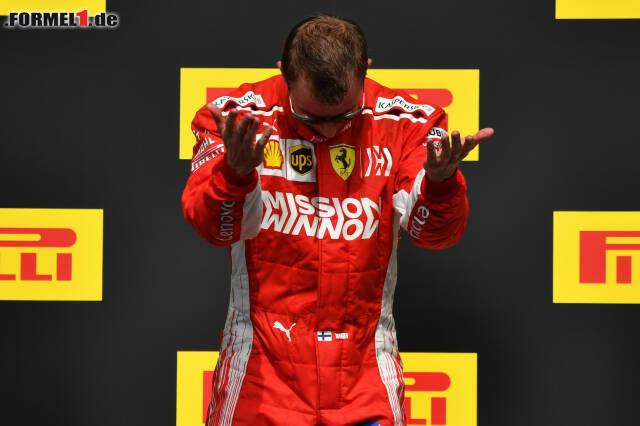2007 war er der bisher letzte Weltmeister auf Ferrari, 2019 möchte er bei Alfa Romeo seinen zweiten Frühling erleben und noch mindestens einmal aufs Podium fahren. Die Chancen dafür stehen gar nicht so schlecht. Klick dich jetzt durch die fünf Gründe, warum Kimi Räikkönen 2019 mindestens einen dritten Platz schafft!