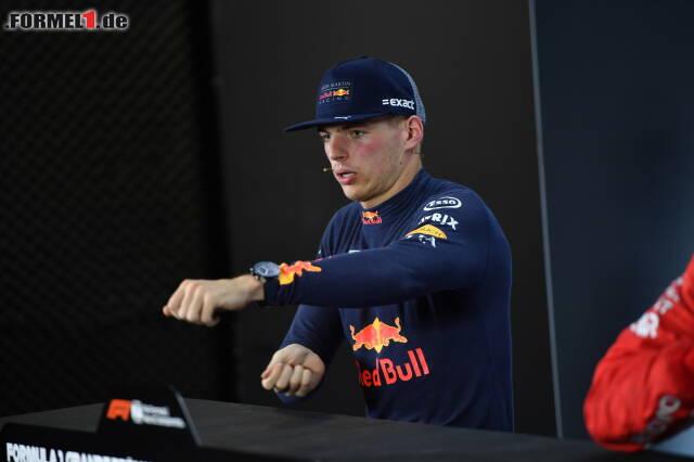 Max Verstappen ist immer noch stinksauer auf Esteban Ocon. Jetzt durch die Foto-Sequenz klicken, wie es dazu kam ...