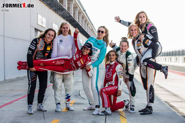 Sophia Flörsch & Co. wollen es im Formelsport ihren Kollegen zeigen. Jetzt durchklicken, welche Frauen das Zeug haben könnten, in die Formel 1 aufzusteigen!