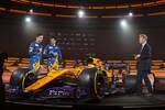 Lando Norris und Carlos Sainz (McLaren)