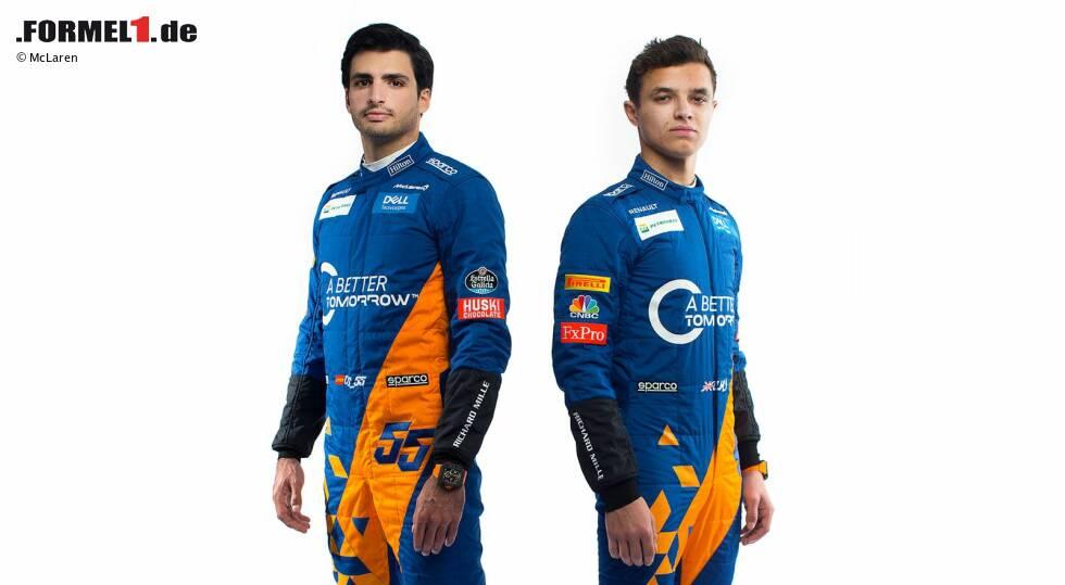 Carlos Sainz und Lando Norris