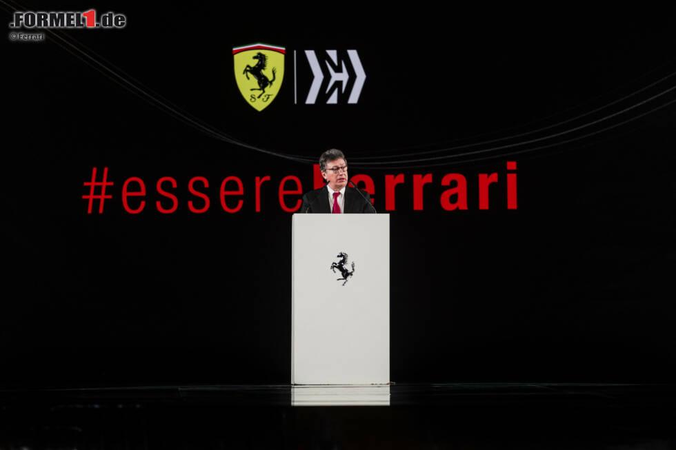 Louis Camilleri, Ferrari-Präsident