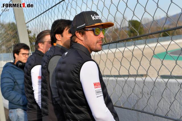 In der Formel 1 ist Fernando Alonso nur Zuschauer. Trotzdem hat er genug zu tun. Seine Engagements jetzt zum Durchklicken!
