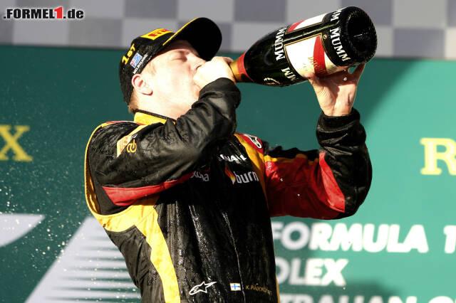 Kimi Räikkönen sorgte in der Saison 2013 immer wieder für Eskapaden. Klicken Sie sich jetzt durch einige seiner klassischsten Momente!