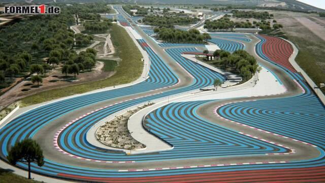 Typische Auslaufzonen des Circuit Paul Ricard
