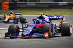 Alexander Albon (Toro Rosso) und Lando Norris (McLaren)