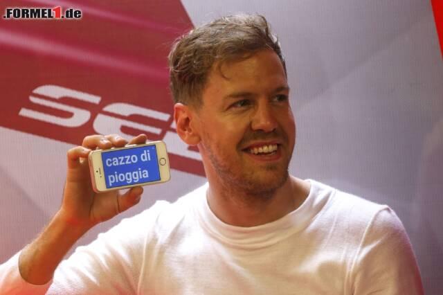 Sebastian Vettel sieht man selten mit einem Smartphone in der Hand