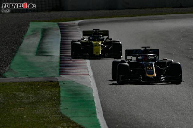 Pietro Fittipaldi und Nico Hülkenberg (Renault)