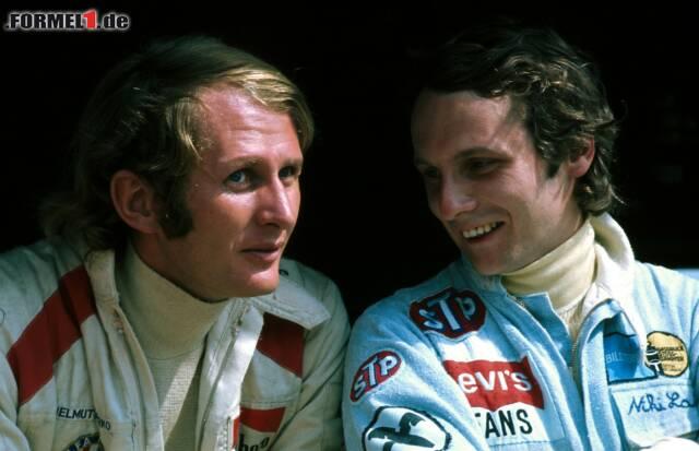 Kyalami 1972: Helmut Marko und Niki Lauda rittern darum, wer legitimer Nachfolger von Jochen Rindt wird. Lauda erbt Markos Ferrari-Vertrag - und startet die große Weltkarriere. Eine Freundschaft zum Durchklicken!