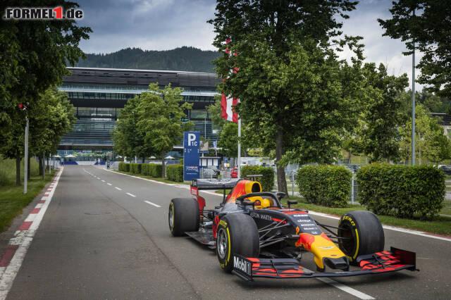 Der Red Bull RB15 startet heute in Spielberg zur großen Österreich-Tour.