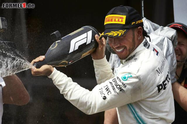 Lewis Hamilton hat nach Le Castellet allen Grund zum Jubeln. Von der Redaktion erhielt er Note 1. Wie wir sonst benotet haben, und warum? Jetzt durch alle 20 Fahrer klicken!
